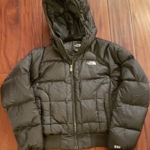 The North Face 550 down fill puffer coat